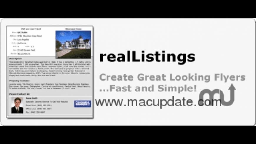 realListings for Mac - review, screenshots
