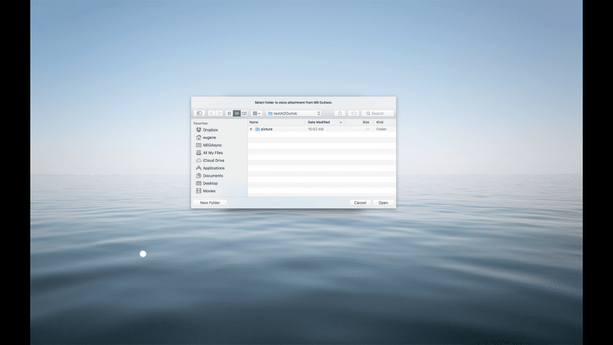 Attachment Downloader for Outlook for Mac - review, screenshots