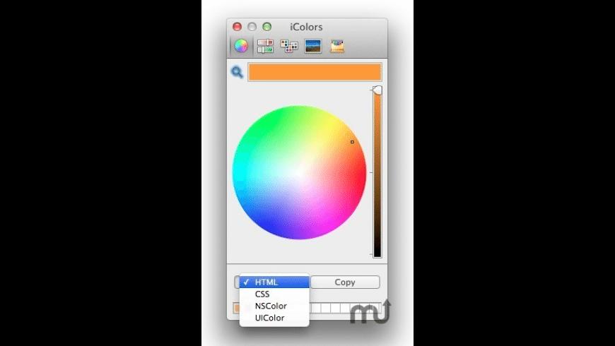 iColors for Mac - review, screenshots