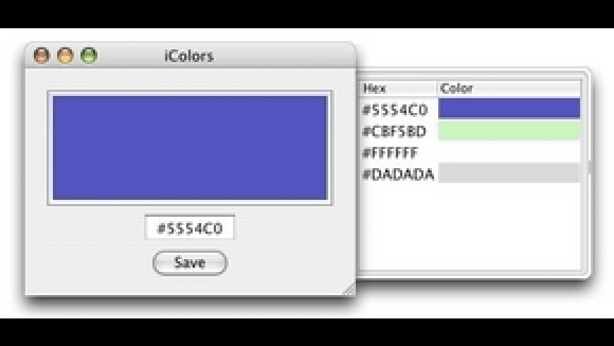 iColors for Mac - review, screenshots