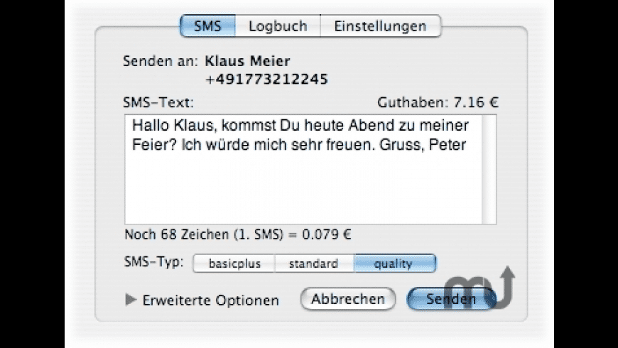 TheSMS for Mac - review, screenshots