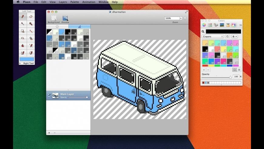 Pixen for Mac - review, screenshots