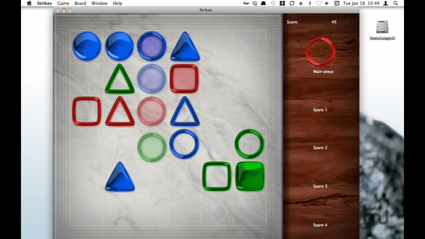 Strikes for Mac - review, screenshots