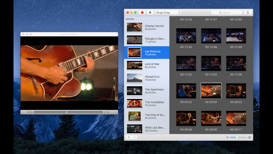 DVD Snap for Mac - review, screenshots