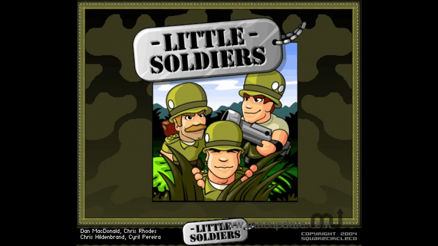 Little Soldiers for Mac - review, screenshots