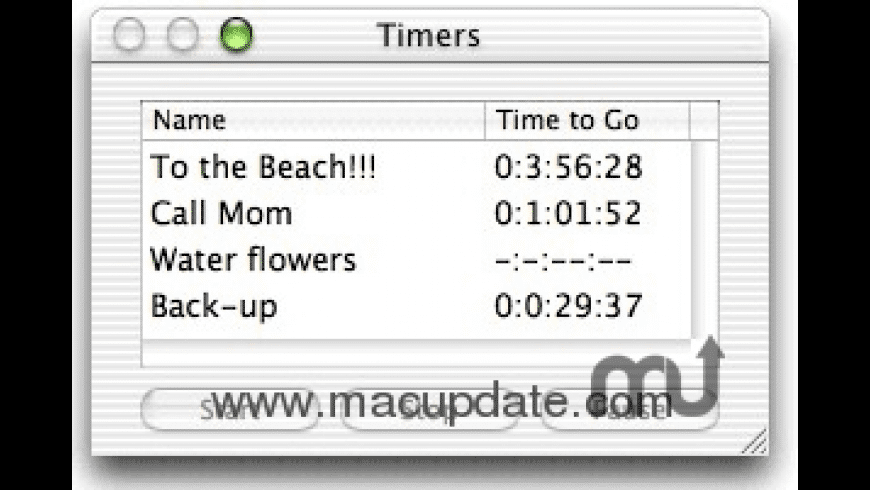 Final Countdown for Mac - review, screenshots