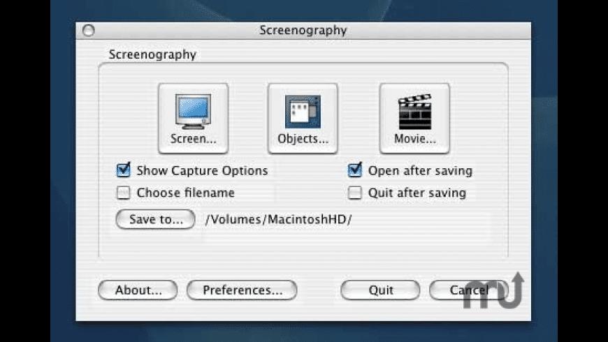 Screenography for Mac - review, screenshots
