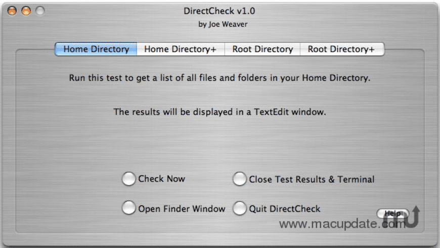 DirectCheck for Mac - review, screenshots
