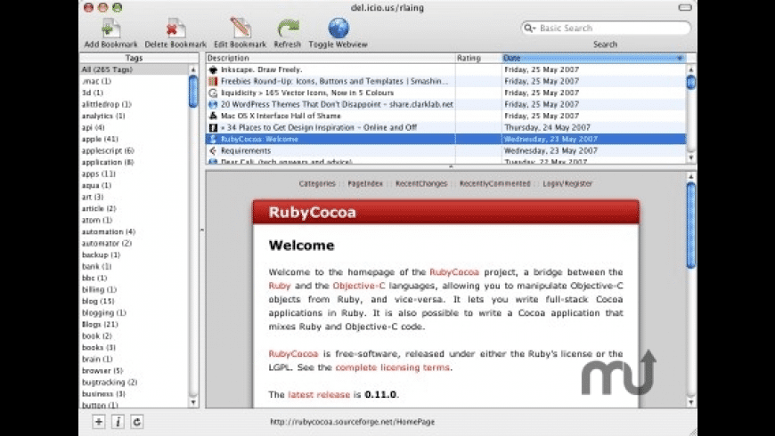 Cocoalicious for Mac - review, screenshots