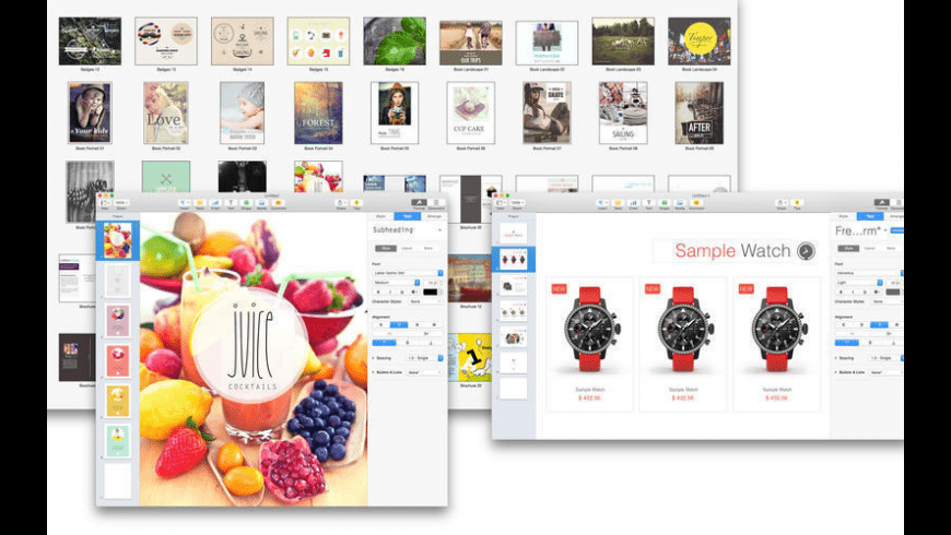 Set for Pages for Mac - review, screenshots