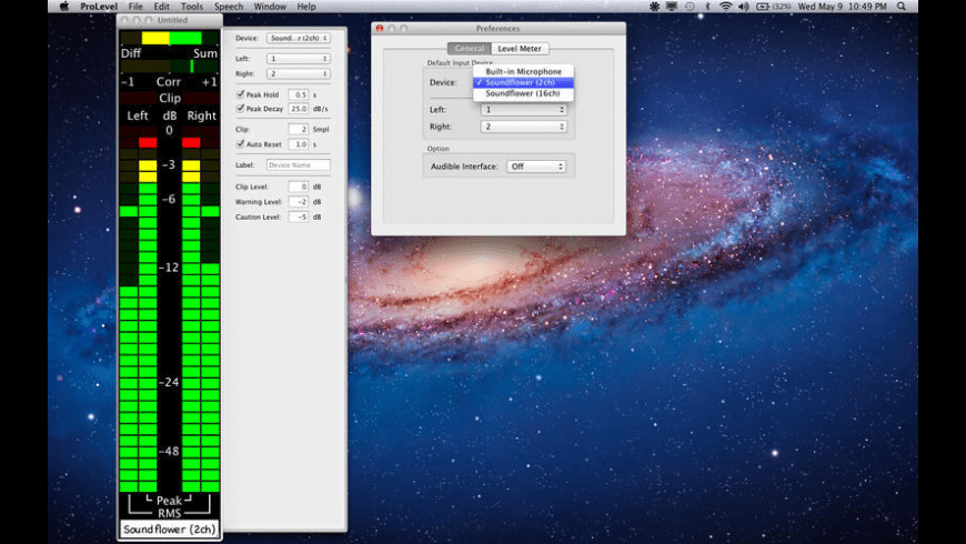 ProLevel for Mac - review, screenshots