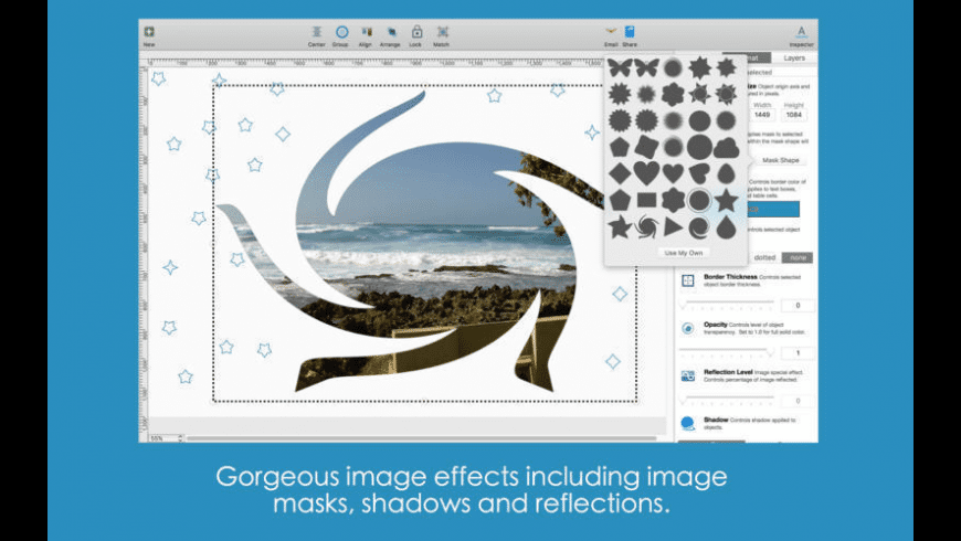 Blue Penguin eCard Designer for Mac - review, screenshots