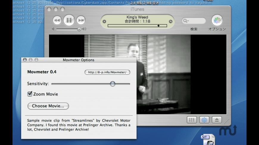 Movmeter for Mac - review, screenshots