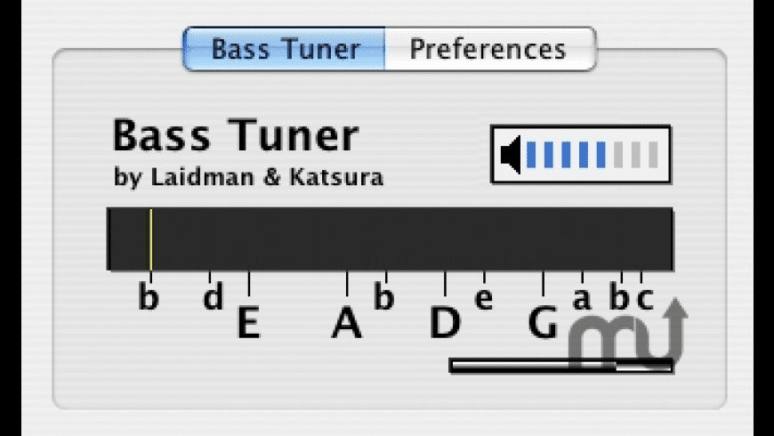 Bass Tuner AU for Mac - review, screenshots