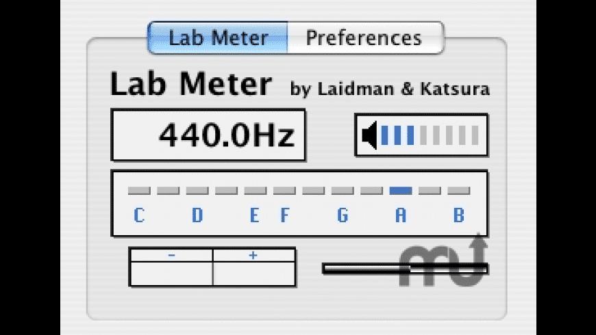 Lab Meter AU for Mac - review, screenshots