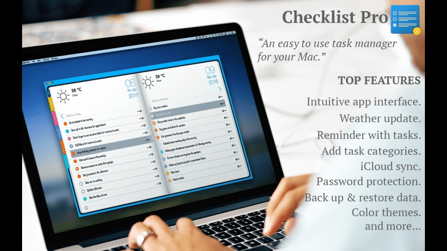 Checklist Pro for Mac - review, screenshots