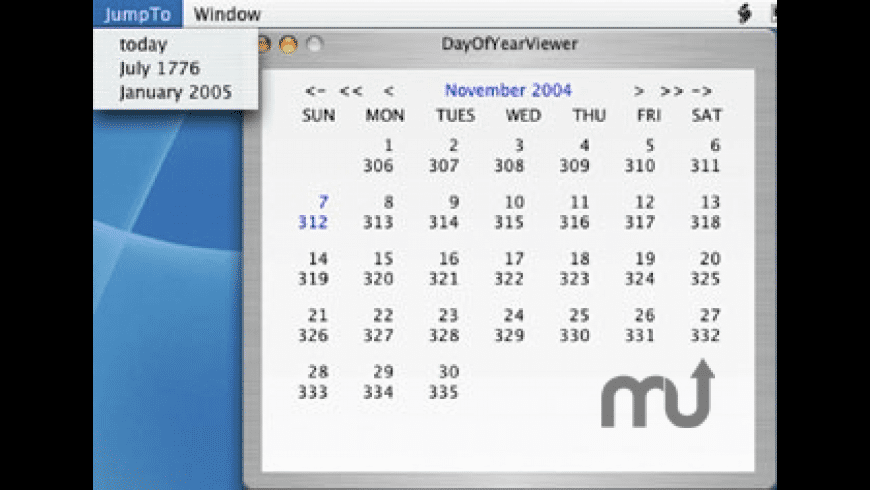 DayOfYearViewer for Mac - review, screenshots