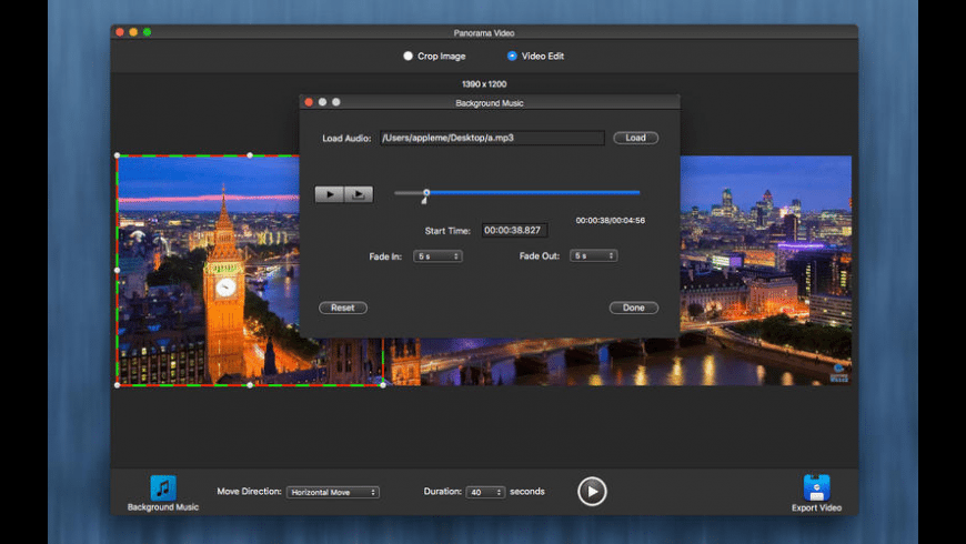 Panorama Video for Mac - review, screenshots