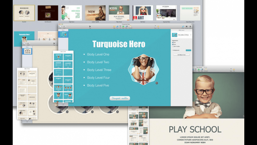 Templates Bundle for iWork for Mac - review, screenshots