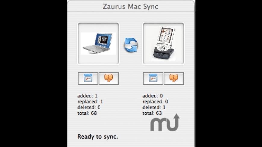 ZMacSync for Mac - review, screenshots