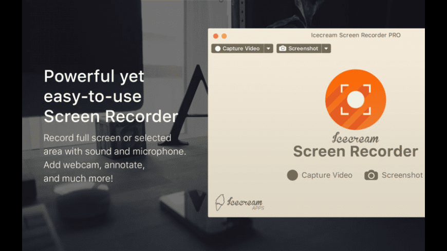 Icecream Screen Recorder Pro for Mac - review, screenshots
