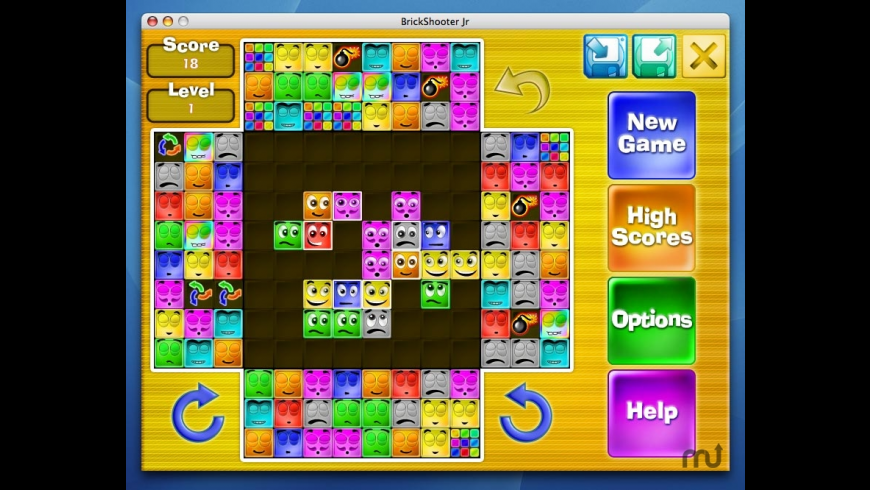 BrickShooter Jr. for Mac - review, screenshots