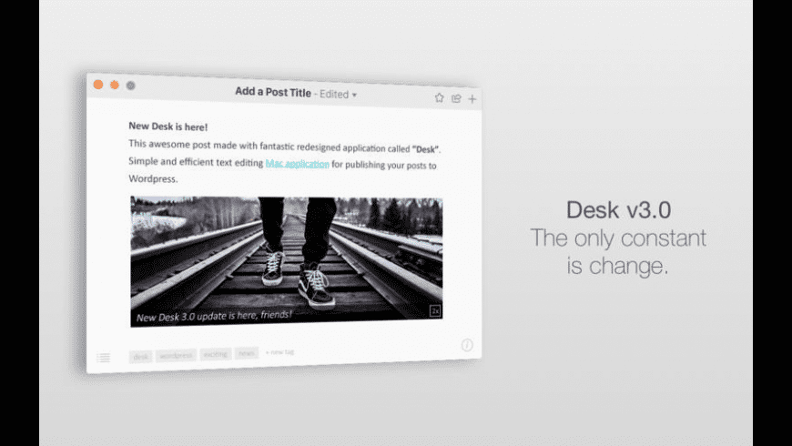 Desk for Mac - review, screenshots