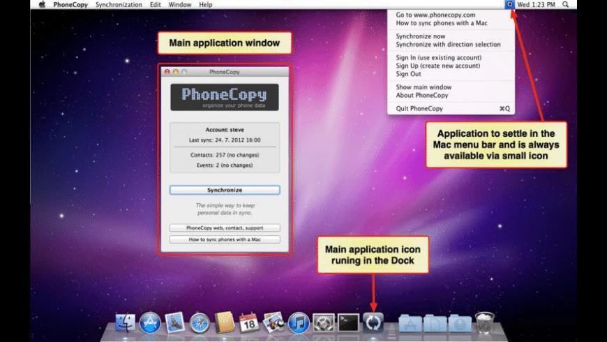 PhoneCopy for Mac - review, screenshots