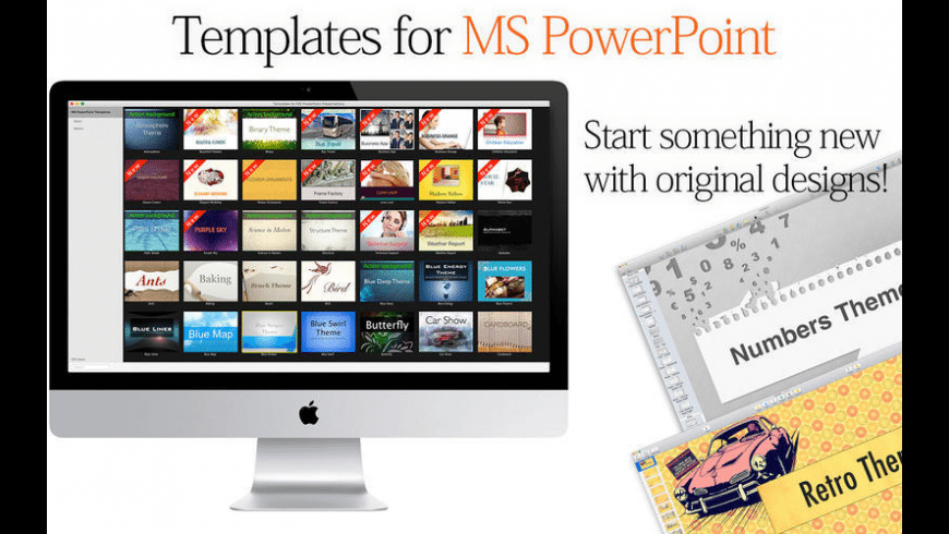 Templates for MS PowerPoint Presentations for Mac - review, screenshots