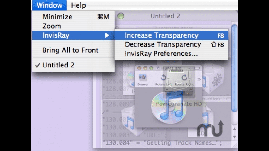 InvisRay for Mac - review, screenshots