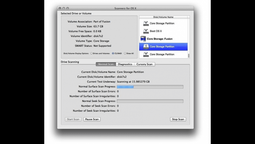 Scannerz for Mac - review, screenshots