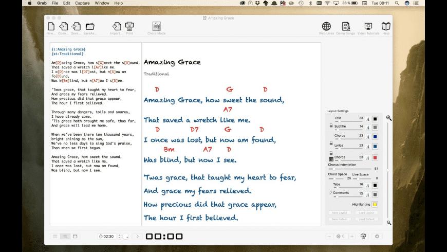 ChordPro Buddy for Mac - review, screenshots
