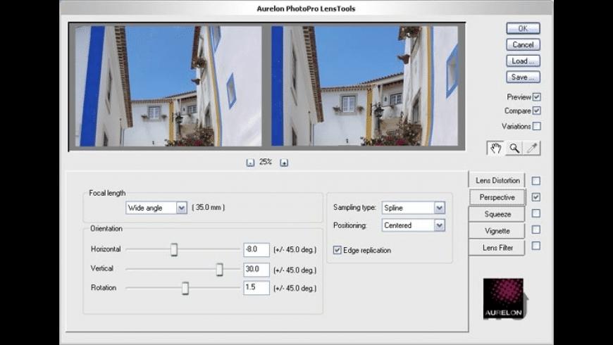 Aurelon PhotoPro LensTools for Mac - review, screenshots