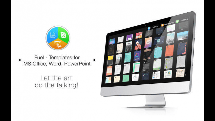 Templates for MS Office, Word, PowerPoint for Mac - review, screenshots
