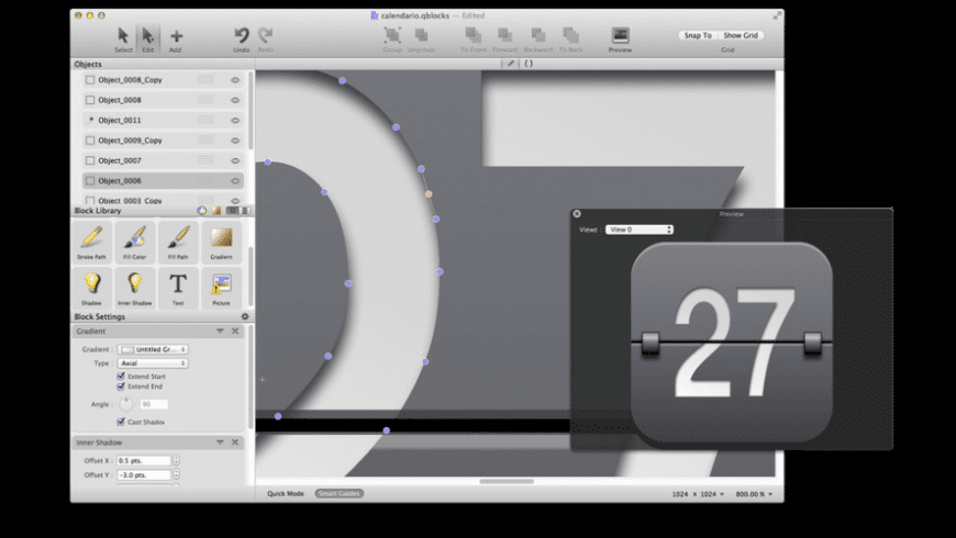 QBlocks for Mac - review, screenshots