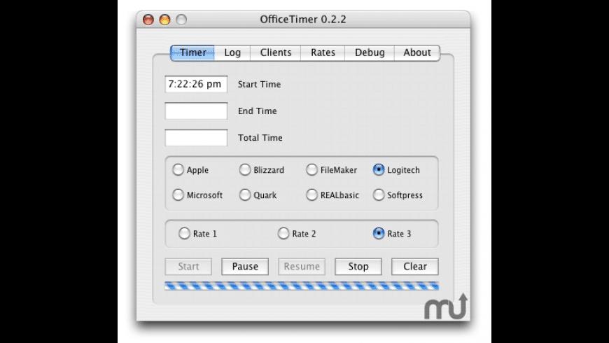 OfficeTimer for Mac - review, screenshots