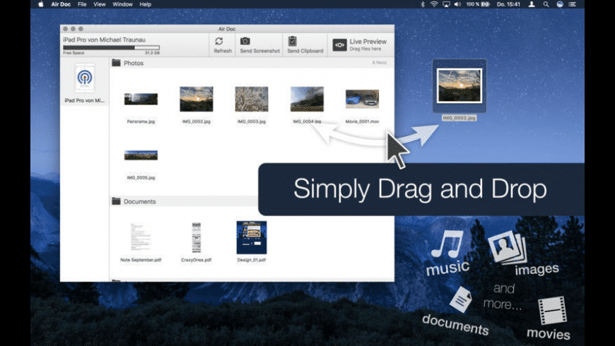 Air Doc for Mac - review, screenshots