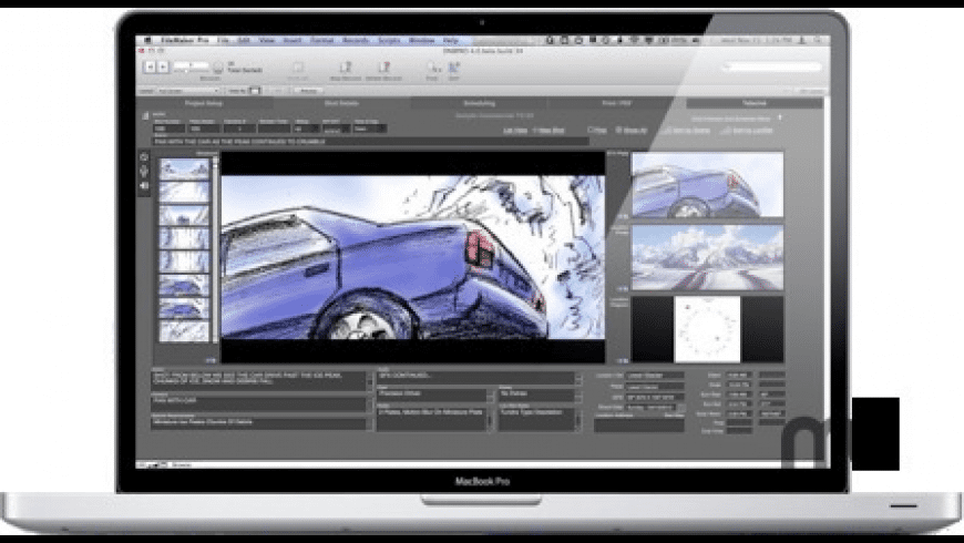 Directors NoteBook Pro for Mac - review, screenshots