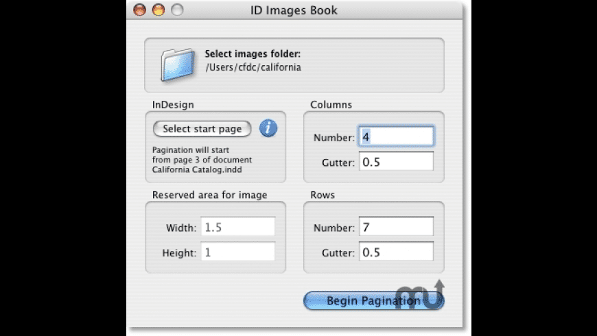 ID Images Book for Mac - review, screenshots