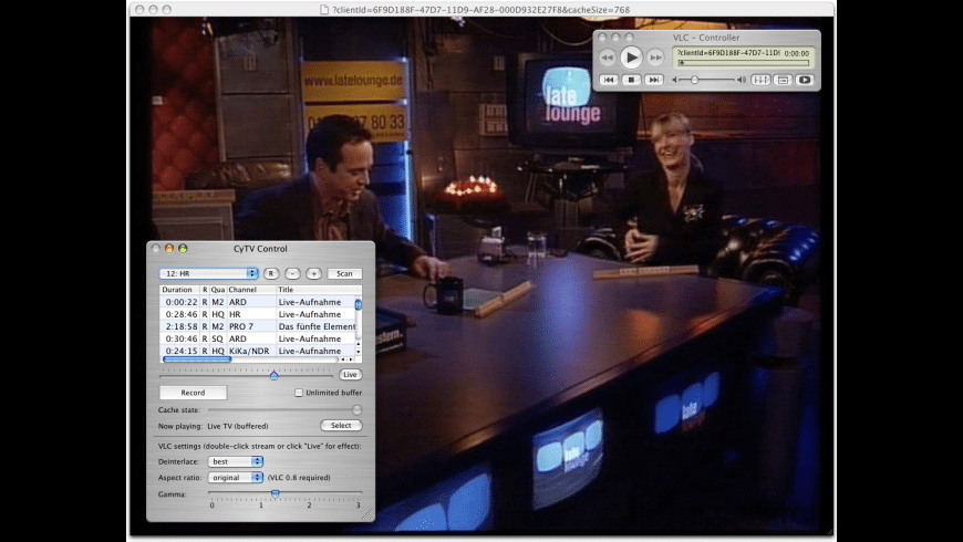 CyTV for Mac - review, screenshots