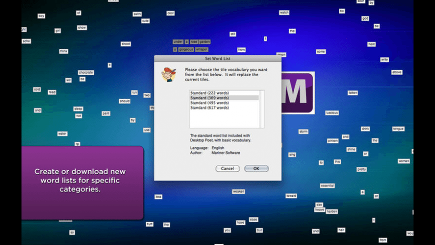 Desktop Poet for Mac - review, screenshots