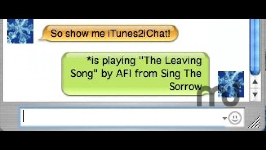 iTunes2iChat for Mac - review, screenshots