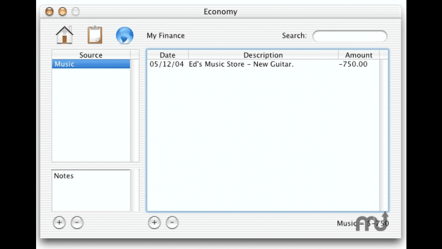 Economy for Mac - review, screenshots