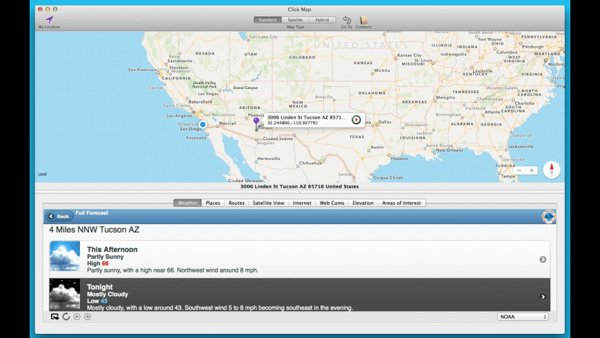 Click Map for Mac - review, screenshots