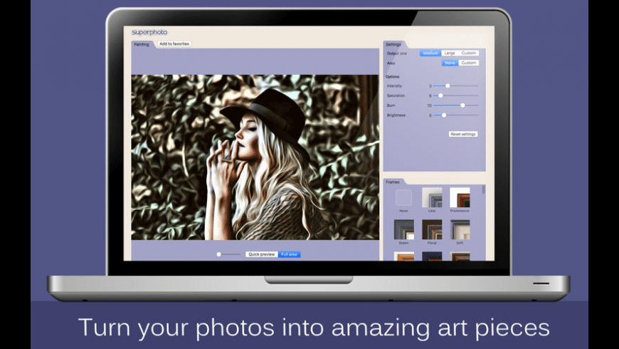 SuperPhoto for Mac - review, screenshots