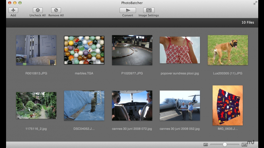 Photo Batcher for Mac - review, screenshots
