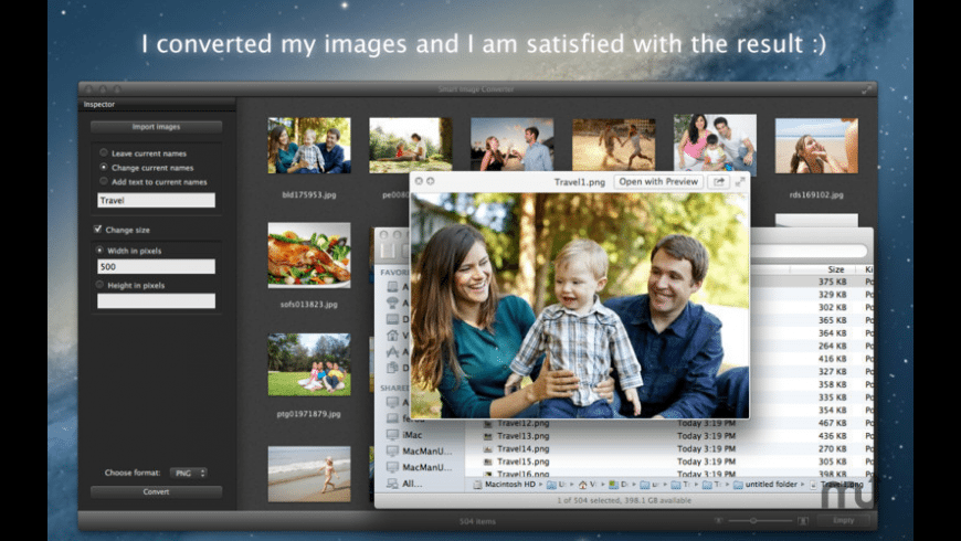 Smart Image Converter for Mac - review, screenshots