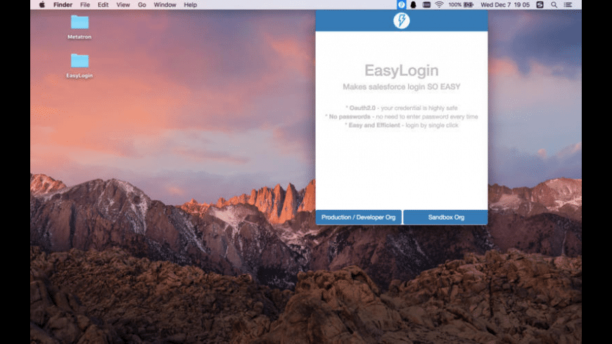 EasyLogin for Mac - review, screenshots