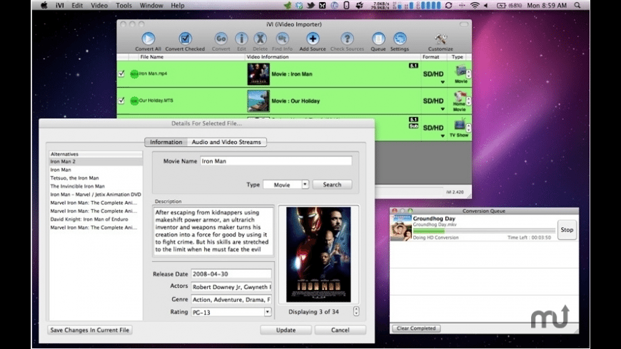 iVI Pro for Mac - review, screenshots