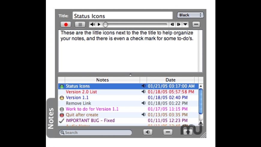 Memento for Mac - review, screenshots
